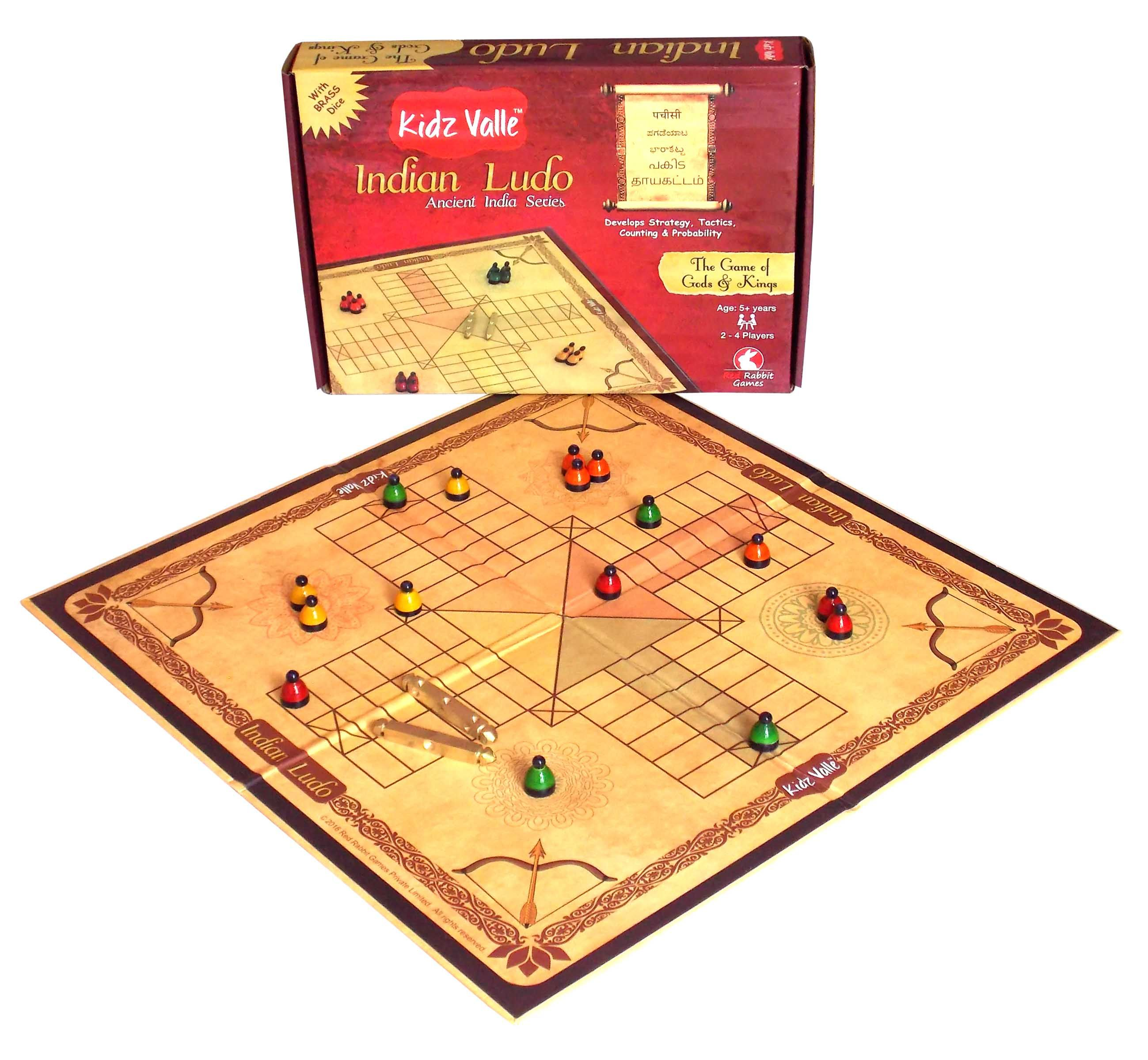 Kidz Valle Indian Ludo, Pachisi, Pagadeyaata , Barakatta, Ancient