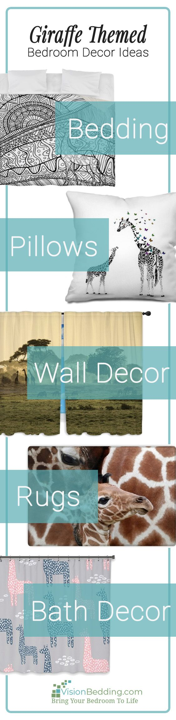 Cool Giraffe Themed Bedroom Decorating Ides Create A Unique