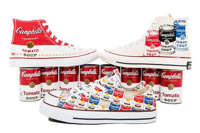 e8454fa705c2 Andy Warhol x Converse (Tomato Soup)
