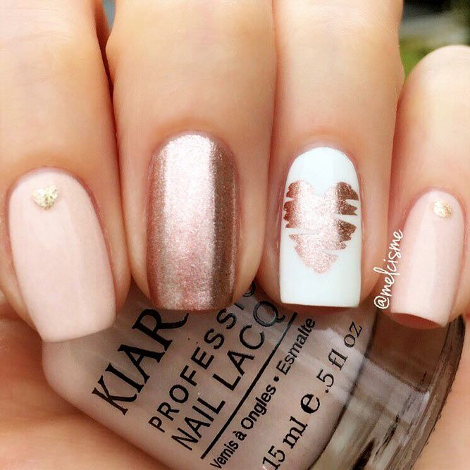 30 Trendiest Shellac Nails Designs You Will Be Obsessed With Oro Rosa