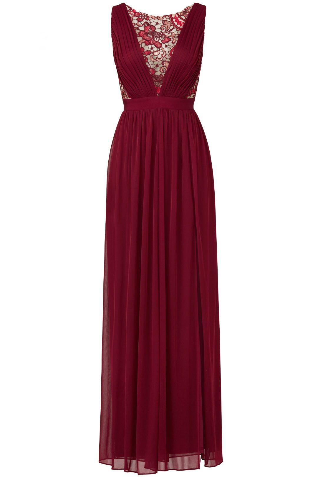 4f451457c1 ColsBM Thalia - Dark Red Bridesmaid Dresses