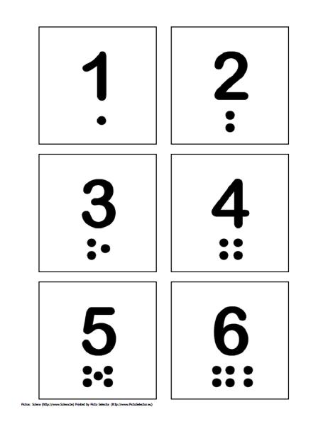 Free Printable Pecs Numbers 1 Through 10 Free Printable Numbers Printable Numbers Printable Flash Cards
