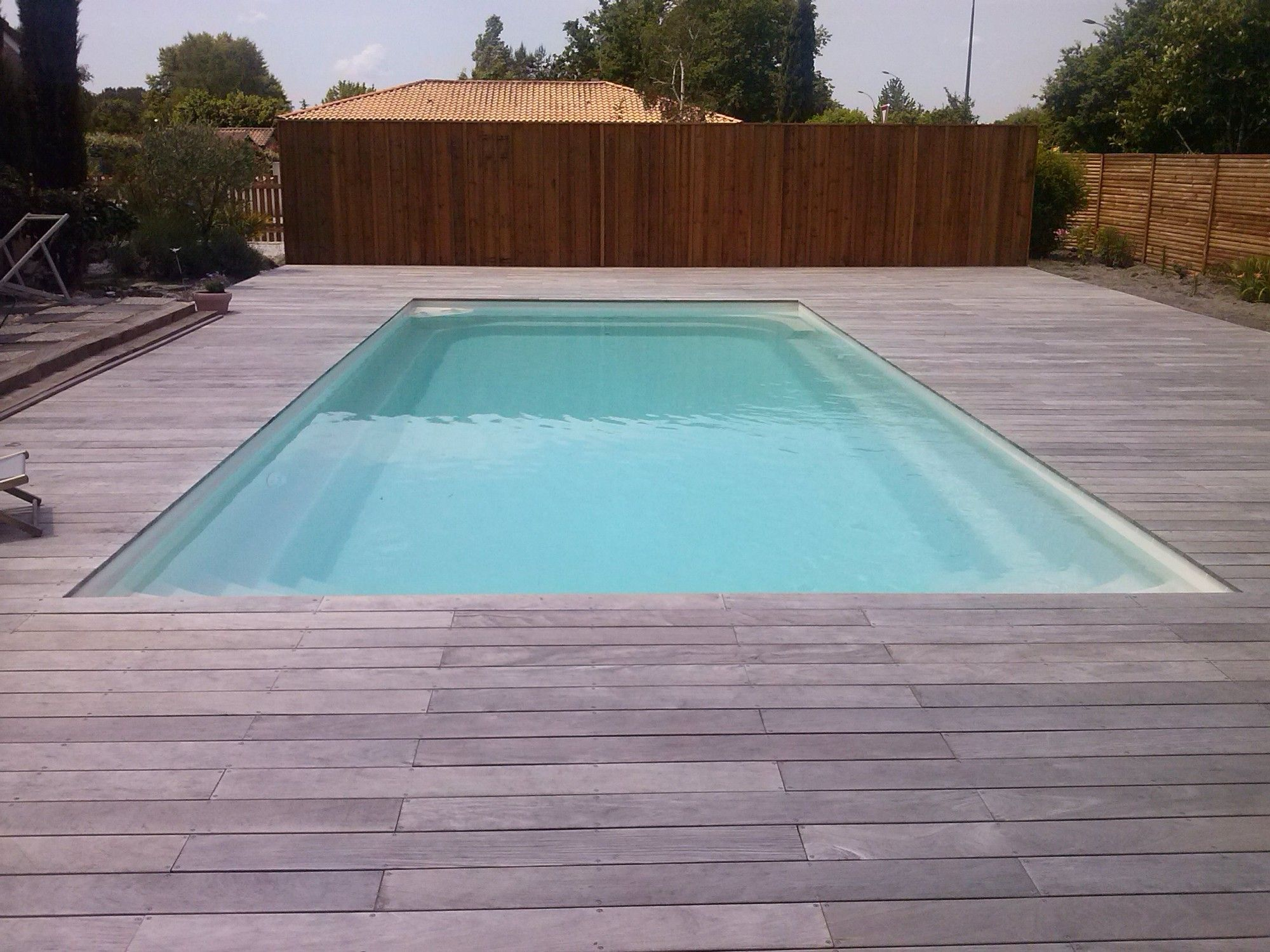 Swimming Pool Deck Non Slip Exterior Wall Trädgård