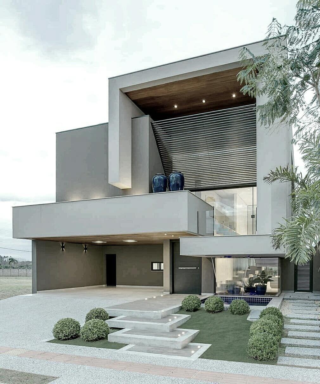 Amazing architecture on instagram arquitetura for Casa minimalista lima