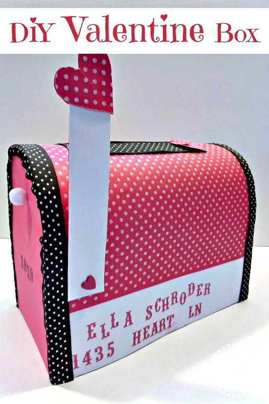 Super Easy Diy Valentine S Day Mailbox Valentine S Day