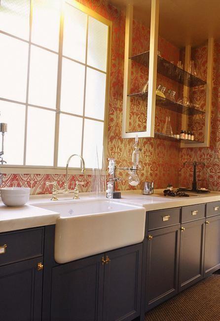 25 Beautiful Kitchen Decor Ideas Bringing Modern Wallpaper Patterns