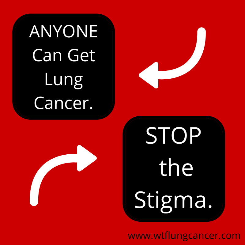Pass it on. ANYONE can get lung cancer.  #lungcancer