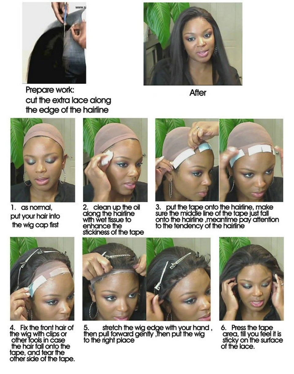 How to full wear lace wig