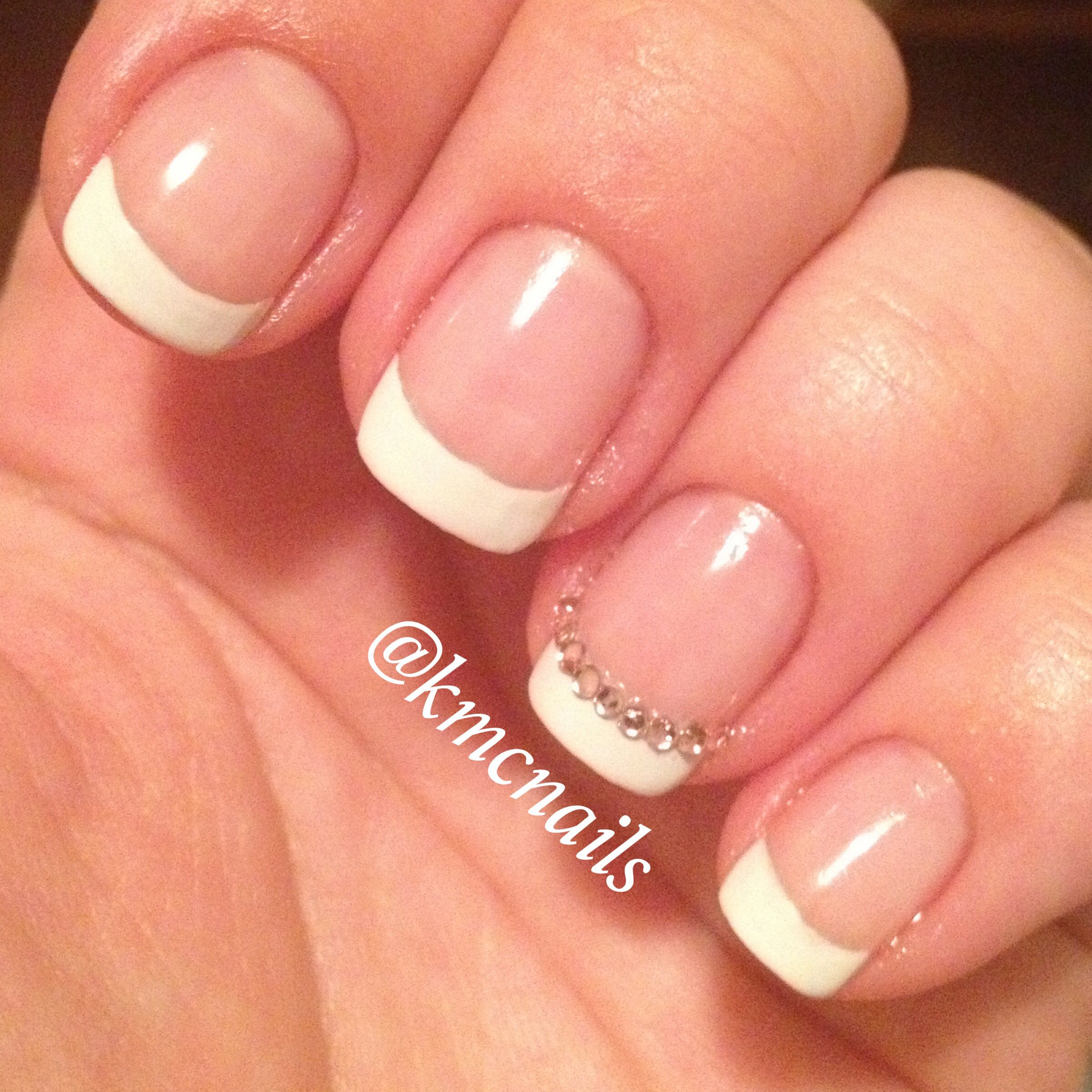 Perfect French Manicure, wedding nails | nails | Pinterest | Manicure