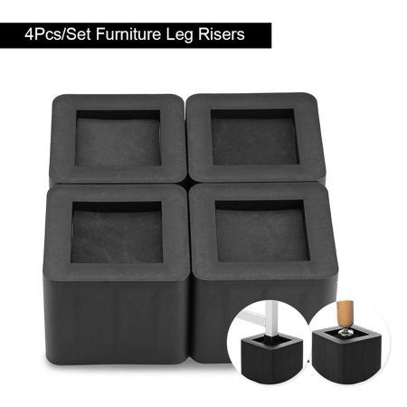 Home Improvement Furniture Legs Black Sofa Furniture Risers