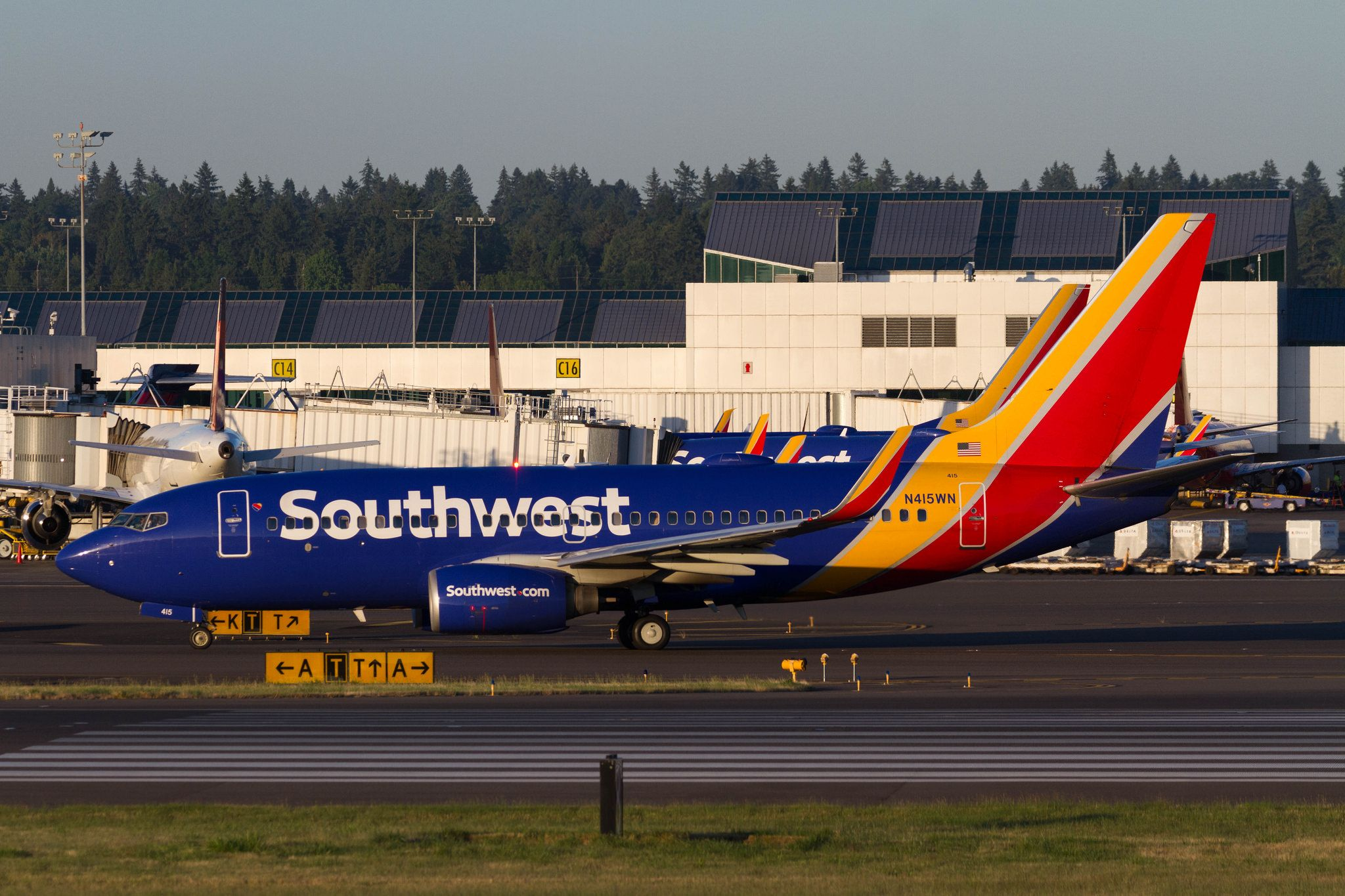 N415WN  Southwest airlines Jet Aircraft