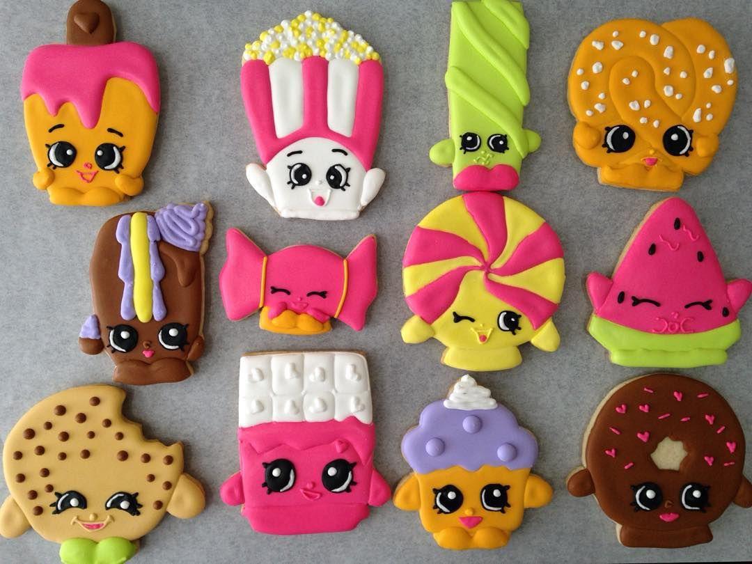 Шопкинс картинки печенька