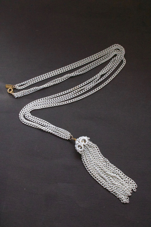 Monet Tassel Necklace