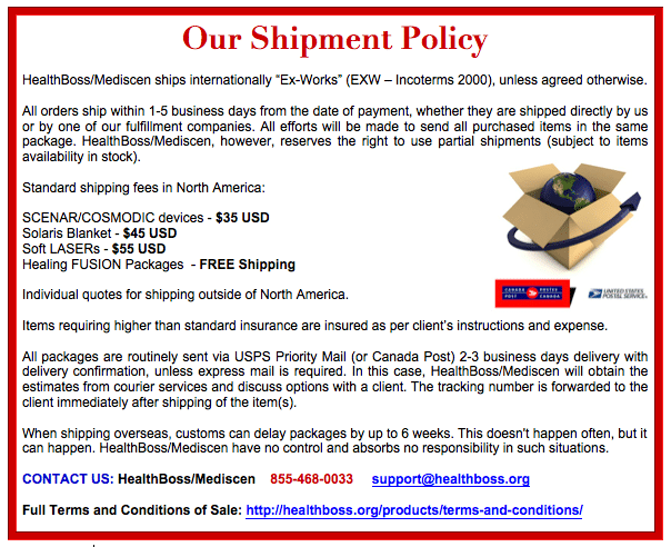 Shipping Policy Templates Word Excel Fomats Policy Template