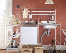 Complete Keuken Ikea : Complete designkeuken voor een appel en een ei ikea sunnersta