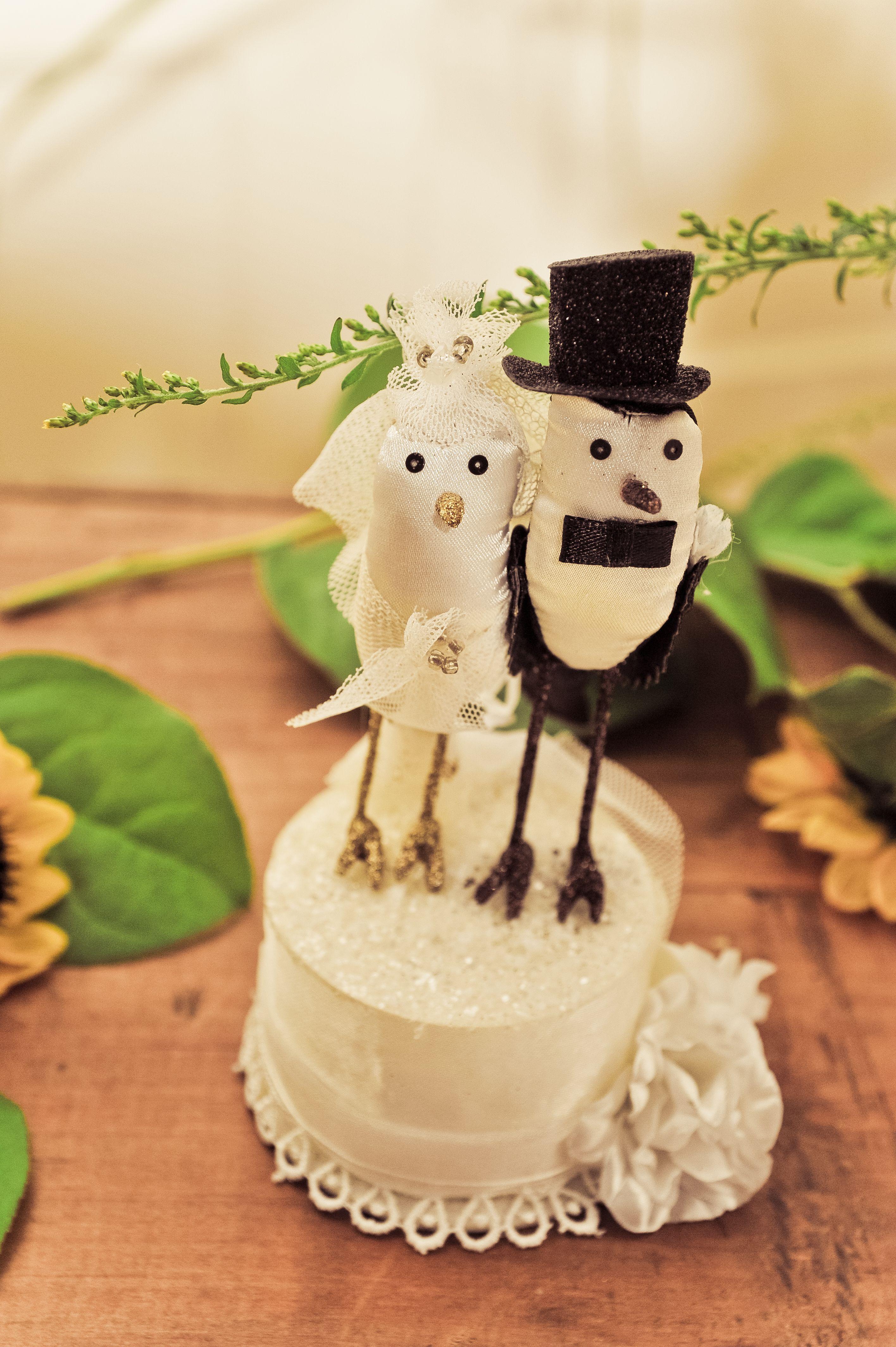 Our Wedding Cake Topper   Party Planning Ideas   Pinterest   Bird ...