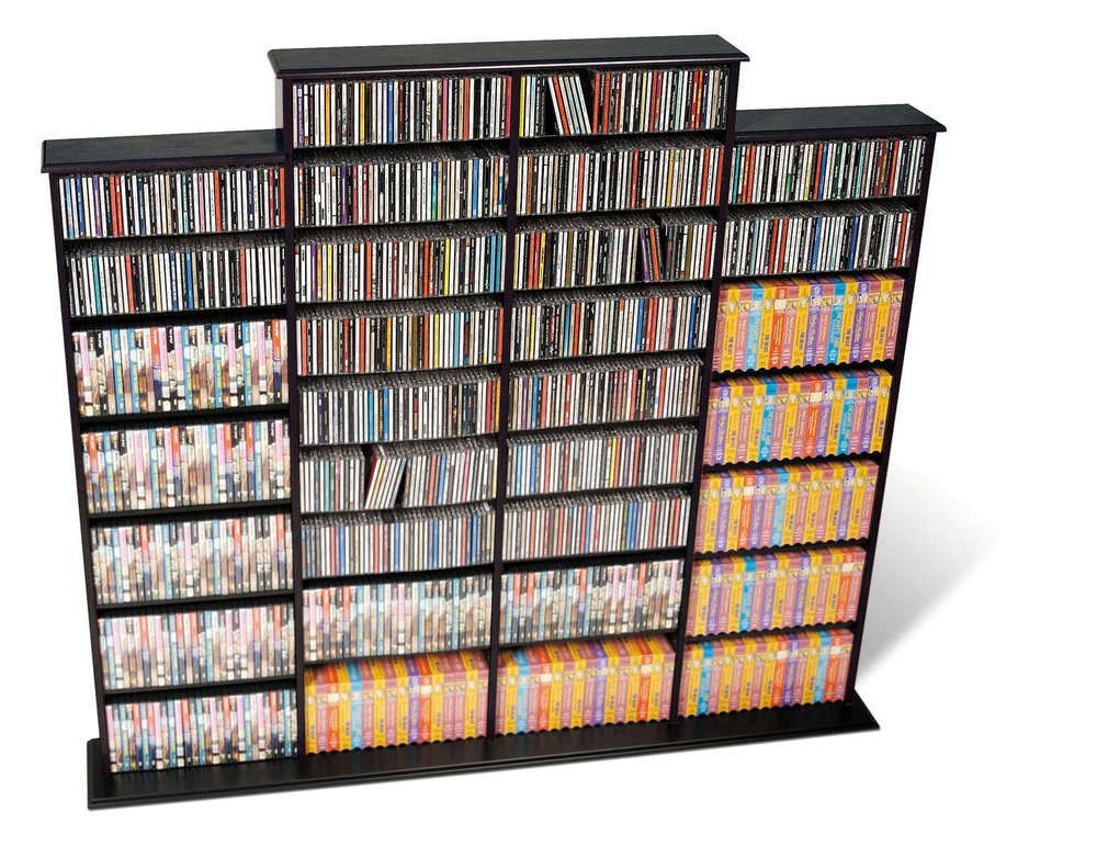 Accessories u0026 furnitureGraceful Contemporary DVD Shelves Storage Solution  sc 1 st  Pinterest & 25+ DVD CD Storage Unit Ideas You Had No Clue About | Dvd storage ...