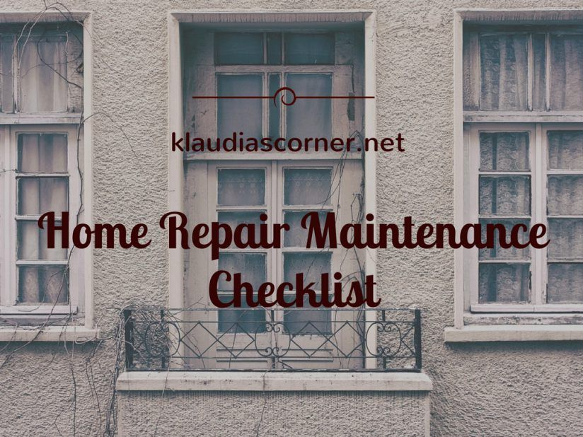 Home Repair Maintenance - Full Checklist Of Proactive Approaches To Keep Your…