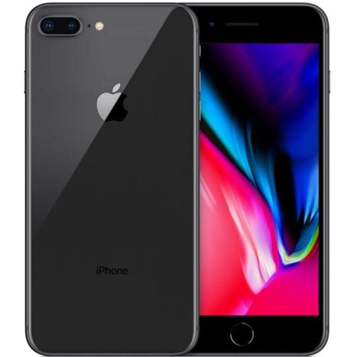 Iphone 8 Plus 64 Gb Black Iphone Apple Iphone Smartphone