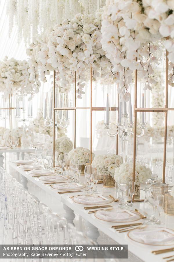 Sara Moghaddamjoo & Jamal Modir Wedding Album #whiteweddingflowers #whiteweddingflowers