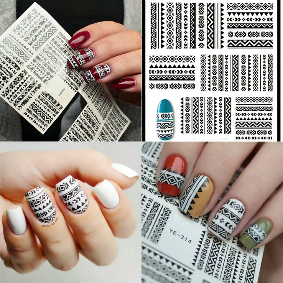 Looking for tribal or aztec nail designs ideas for your nails this ...