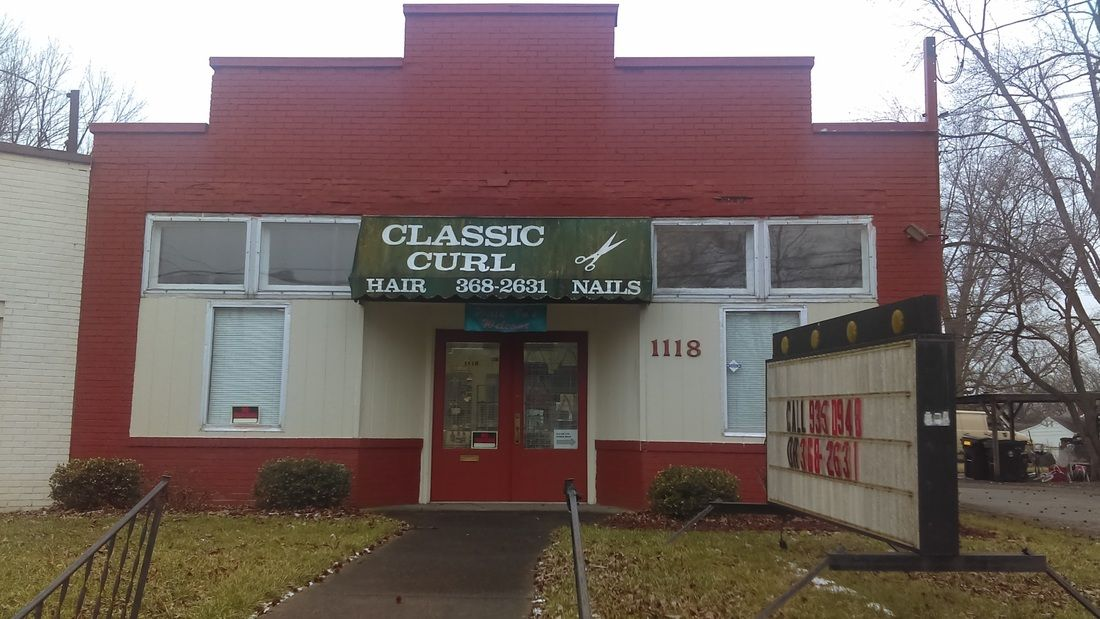Currently operated as a hair salon, this property has