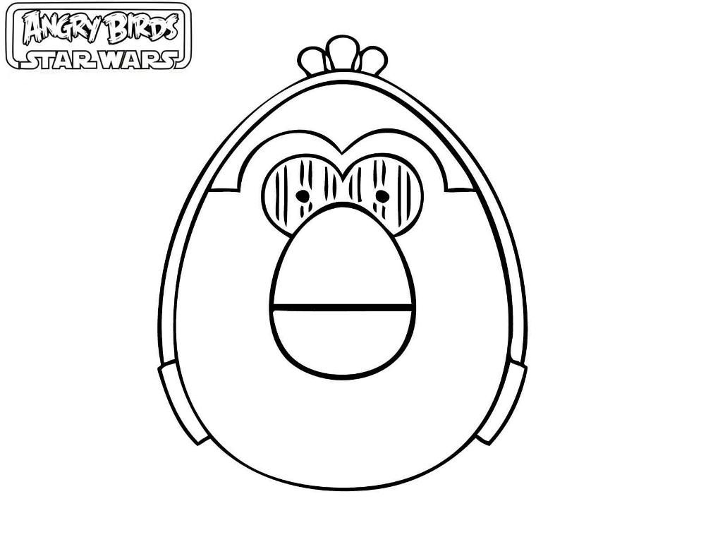 Perfecto Angry Birds Coloring Pages Pájaro Rojo Elaboración ...