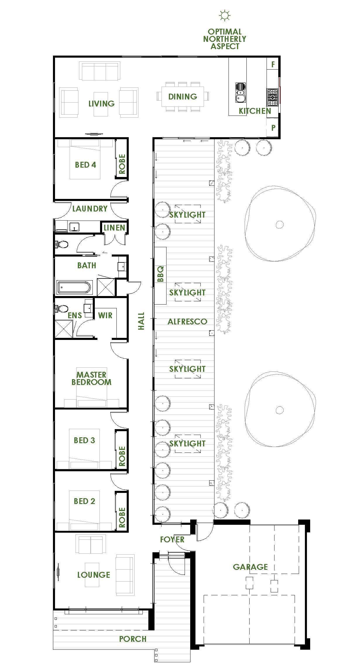 Energy Saving House Plans 2021 Denah Lantai Denah Rumah Denah Desain Rumah