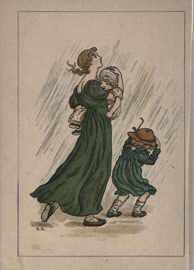 heaveninawildflower: \'April\' illustration from \'Almanack 1893\' by ...