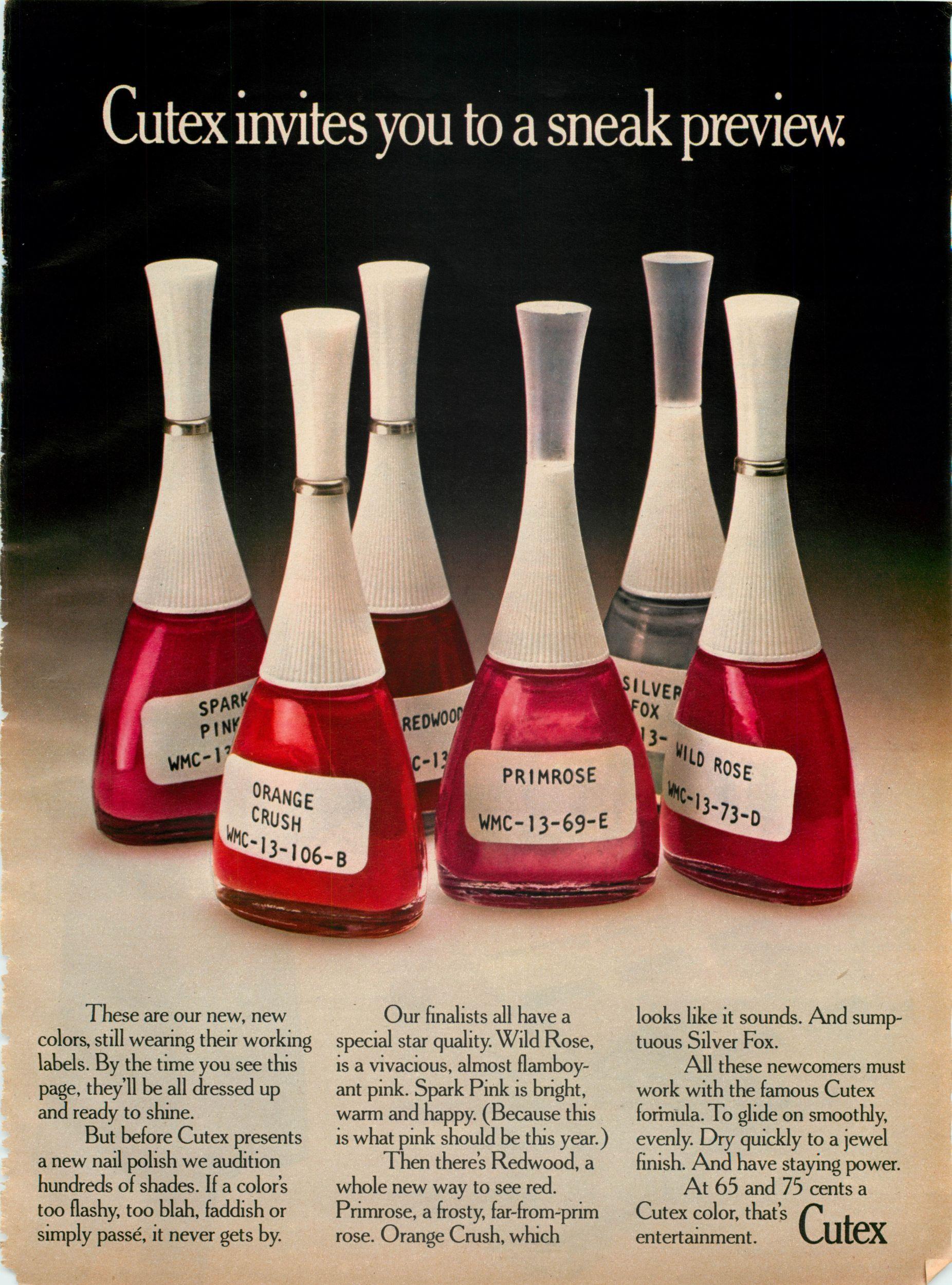 Cutex nail polish | Reminds me how old I am | Pinterest