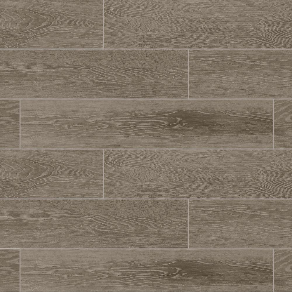 Marazzi Sequoia Forest Evening Gray 8 In X 40 In Porcelain Floor