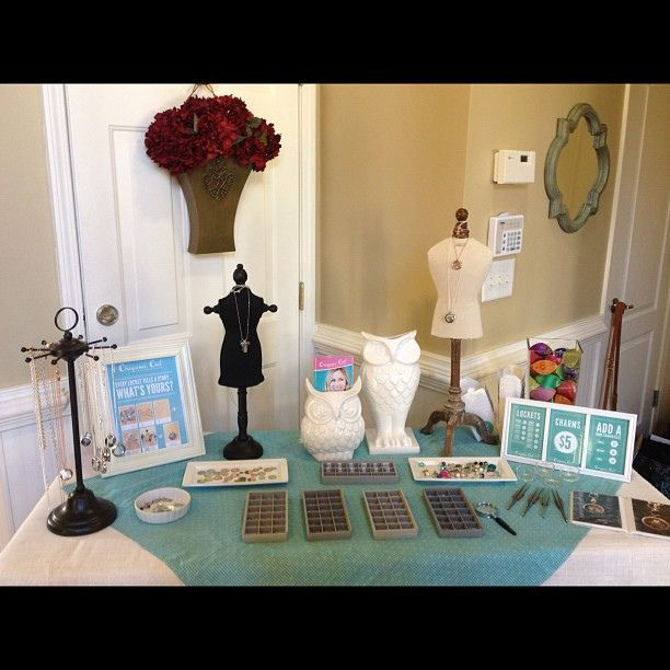 Origami Owl Jewelry Bar In Full Swing