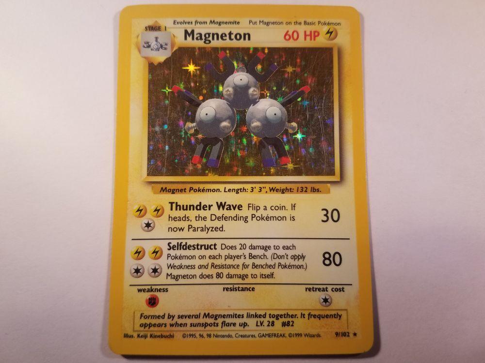 Near Mint 1st Edition Magnemite 60//82 Team Rocket