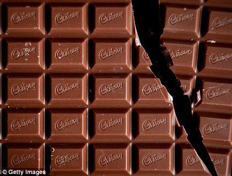 Cadbury spends £6m on making its chocolate bars stand up | Chocolate