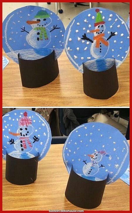 Großartige Buntes Papier + Filze + Schnuck = Schneebälle tr ... #bastelideenweihnachten
