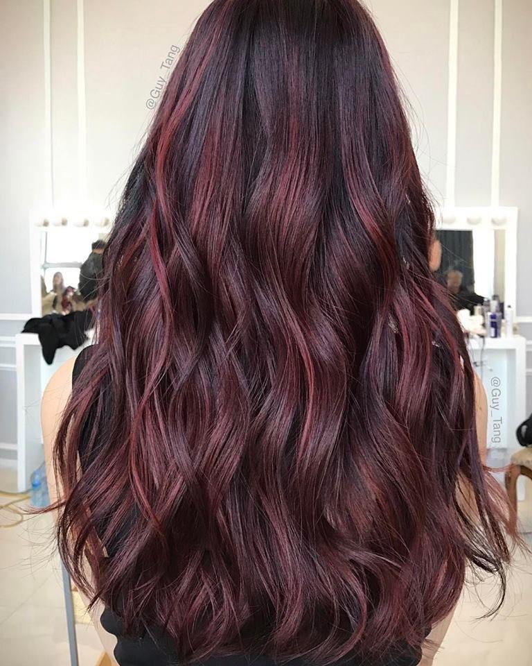 Red Hair Color On Black Base Jpg 768 960 Red Hair Color Hair Color For Black Hair Burgundy Hair