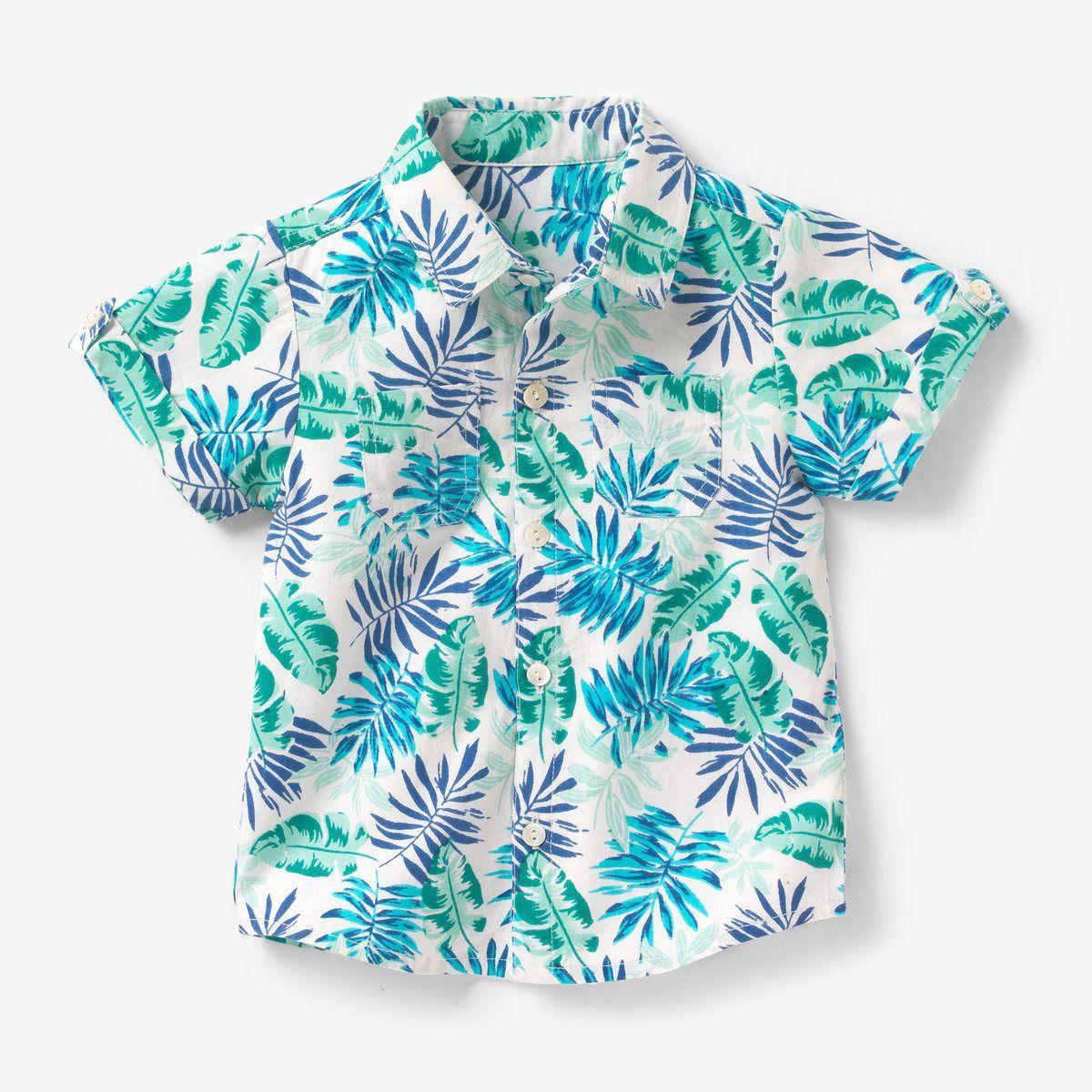 678f4359cf1 Short-sleeved floral print shirt R Baby   La Redoute   prints   Boys ...