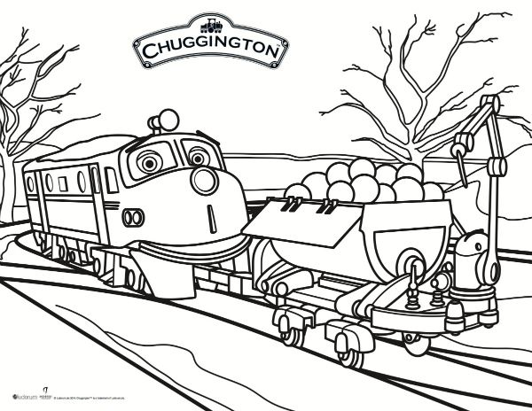 Free Printable Chuggington Coloring Page Coloring Pages