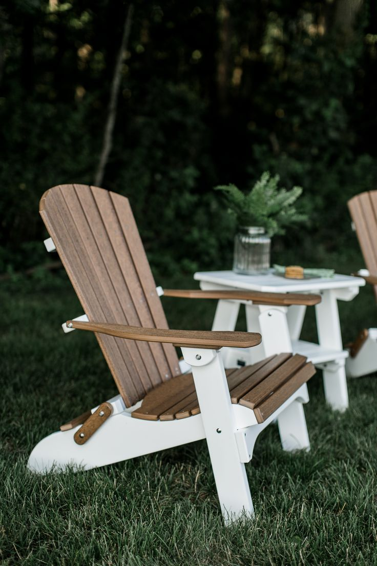 Legacy Folding Adirondack Chair With Images Poly