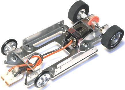 Pro Track Pt626 1 24 Aluminum Drag Racing Chassis Kit Slot Car Drag Racing Drag Racing Chassis Kits