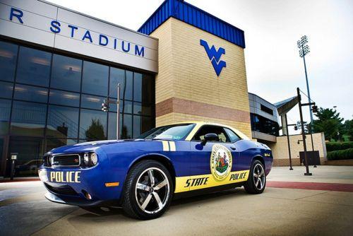 West Virginia State University Police Dodge Challenger Police Cars Police State Police