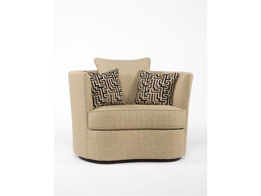 Paul Robert 669-10 SWIVEL Living Room Swivel Chair - Good\'s NC ...