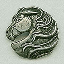 Horse Head Shank Button
