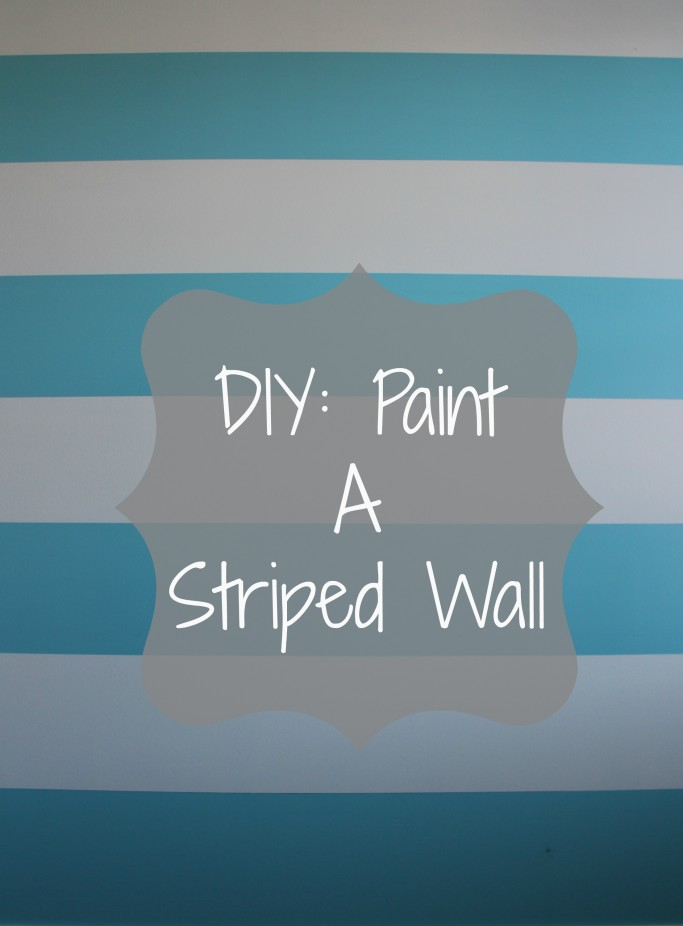 Diy Painting Stripes On Walls Pink Striped Walls