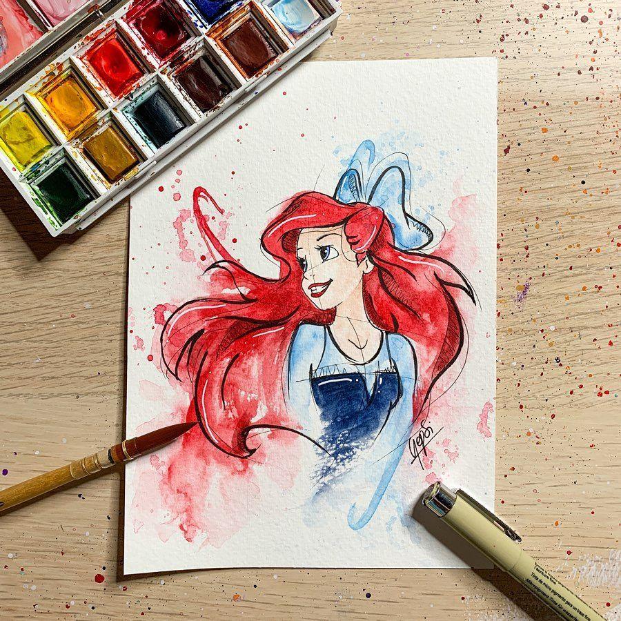 Comment Utiliser La Peinture Aquarelle Comme Un Artiste