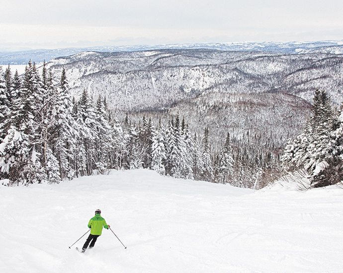 These Off The Beaten Trail Canadian Ski Resorts Will Have You Finding Your Higher Powder Ces Stations Canadiennes Ont Tout Ski F Skiing Canada Newfoundland
