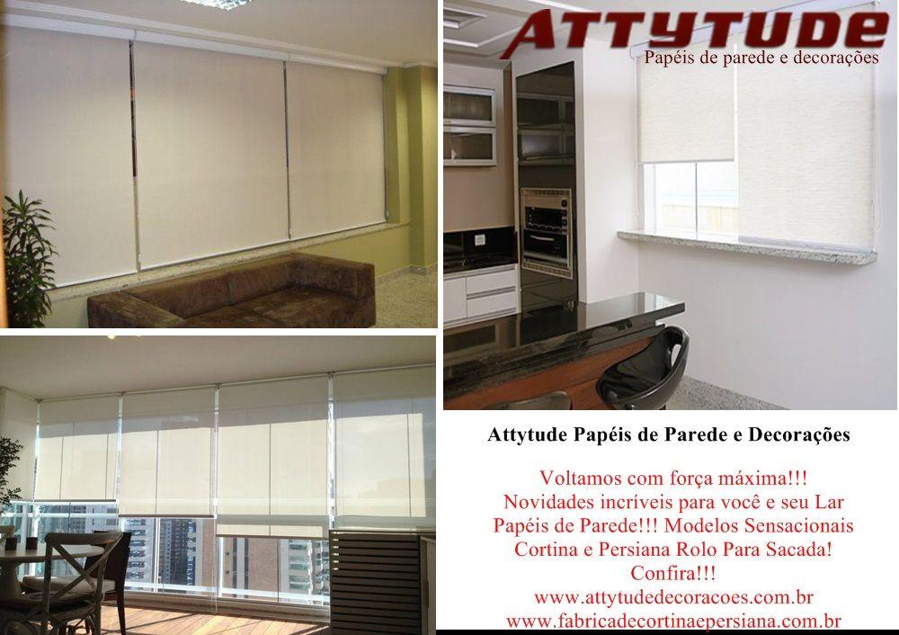 Curtam nossa página! Conheça alguns de nossos produtos! www.attytudedecoracoes.com.br www.fabricadecortinaepersiana.com.br