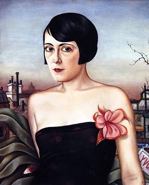 Christian Schad Maika, 1929.