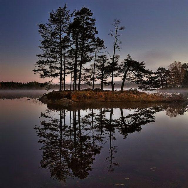 Ösjönäs sjö, Tiveden