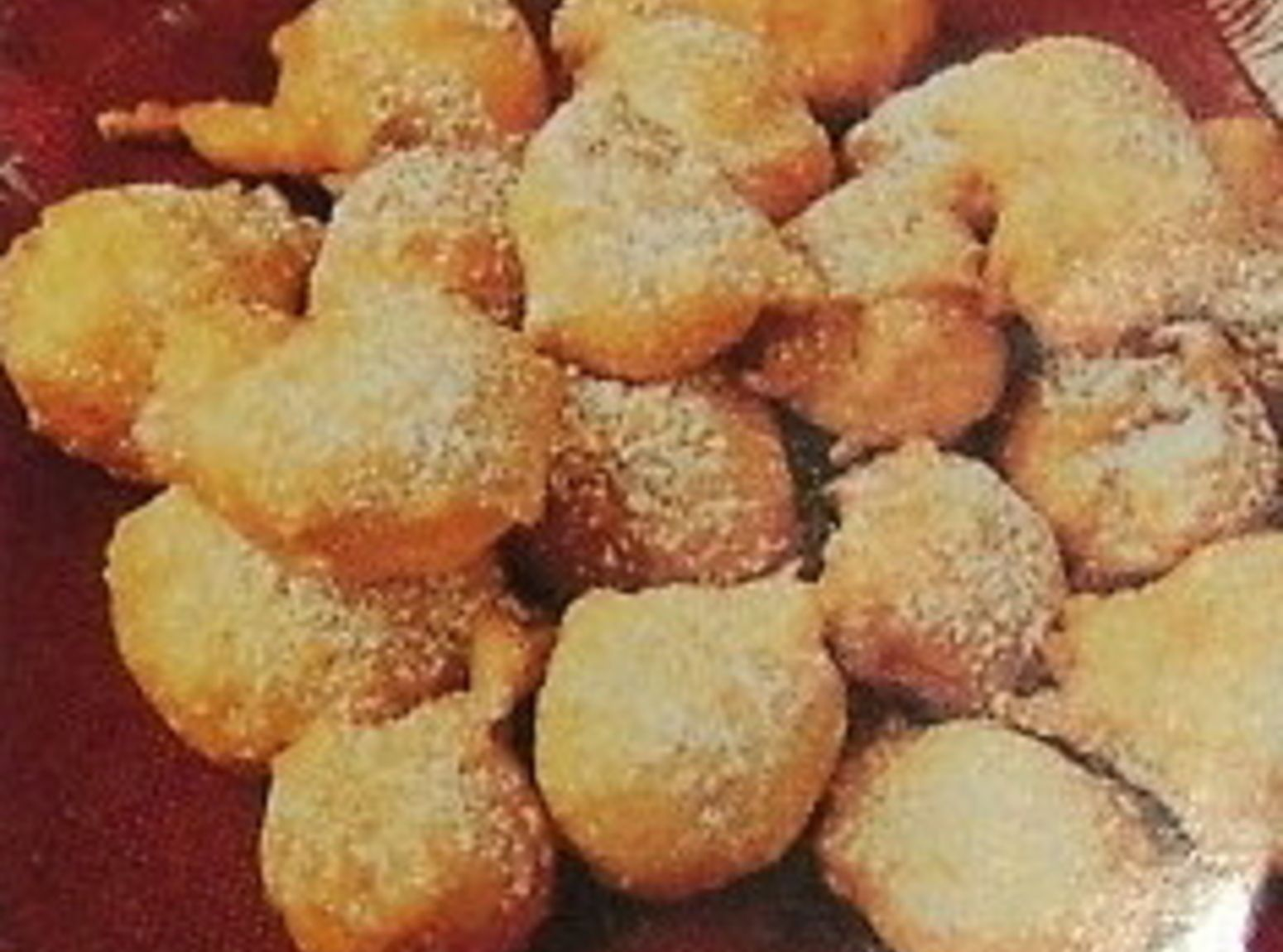 APPLE FRITTERS   Deep Fried  (may try bananas cut rounded slices)